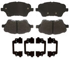 Disc Brake Pad Set-Street Performance Metallic Disc Brake Pad Front fits Fiesta