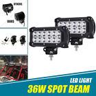 "2x 7"" Inch LED Work Light Bar Spot For Yamaha Grizzly 450 550 660 Kodiak 600 700"