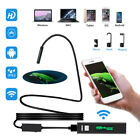 Waterproof 8 LED WiFi Inspection 1200P Endoscope Snake Camera for iPhone Android