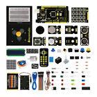New Starter Kit Mega2560 R3 + PIR Motion Sensor +Breadboard Kit For Arduino