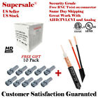Rg59 Siamese 500ft 1000ft Cable 20AWG+18/2 CCTV Security Camera Bulk Wire