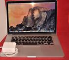 "Apple MacBook Pro Retina 15""Late 2013 2.0GHz Core i7 8GB 256GB Yosemite OS & Win"