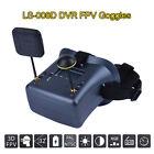 LS-008D 4.3 5.8G 40CH DVR Diversity FPV Goggles Dual Antenna Portable 480*272