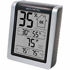 00613 Humidity Monitor With Indoor Thermometer, Digital Hygrometer And Gauge
