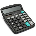 Solar Digital Electronic Battery 12-Digits Calculator Desktop BIG Buttons