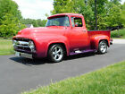 "1956 Ford F-100 Pro Touring, Street Rod Awesome 1956 Ford F-100 Pickup; ALL FORD; 390 c.i. FE, C-6 Auto, 9"" (video)"