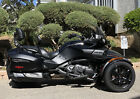 2016 Can-Am F-3 Limited  Can-Am Spyder F-3 Limited Matte Black Automatic