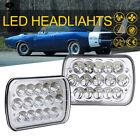"4X6"" LED Headlights Light Bulbs Crystal Clear Hi Low Sealed Beam Headlamp Bright"