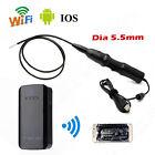 6LED 5.5mm WiFi BOX Endoscope Snake Borescope USB Inspection Camera For iPhone6S