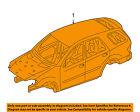 MERCEDES OEM 07-12 GL450 BODY SHELL-Assembly 1646001507