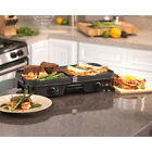 Griddle Multi Grill Electric Nonstick Reversible Smokeless Indoor Stove Top Oven