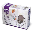 MedPro Homecare Commode Chair with Adjustable Height ( Box is Damaged) New
