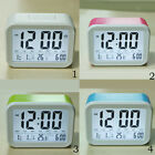 Alarm Clock, Backlight LCD Digital Clock with 3 Alarms Thermometer Calendar