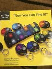 """SHARPER IMAGE """"NOW YOU CAN FIND IT!"""" 8 WIRELESS ELECTRONIC LOCATER"""