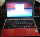 ASUS C201 11.6 Inch Chromebook Rockchip 4 GB 16GB SSD Lotus Gold/Red mint cond.