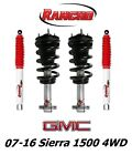 Rancho Front Leveling Struts & RS5000X Rear Shocks For 07-16 Sierra 1500 4WD