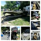 1988 XPress Alumaweld Boat, Trailer, and Johnson 105 Jet Power Motor