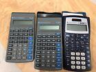 3 Texas Instruments Two (2)TI-30X, One (1) -TI-30X IIS Scientific Calculators/SW