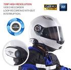 Bluetooth Helmet Intercom Headset HD 720P Video Recorder Camera FM BT Interphone