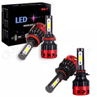9005 + H11 Total 1300W 195000LM CREE LED Headlight Kit High & Low Light Bulbs