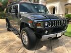 2008 Hummer H2  2008 Hummer H2 Silverstone Metallic Ebony Leather 2nd row captain seats 3rd seat