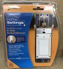 HA06C Intermatic Z-Wave Home Settings Indoor Wall Dimmer NEW