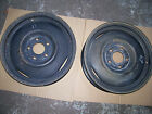 Chev 16x4 5 lug 4 3/4 Rat Rod steel wheels (2)