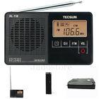 Black Radio Mini DSP FM Stereo Recorder ETM Alarm Clock LED Backlight Receiver