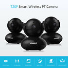 ANNKE 3x 720P Wifi Wireless IP Network PTZ Security Camera MIC CCTV Surveillance