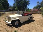 1949 Willys  1949 Willys Jeepster, hot rod,V6, auto, fuel injected, a/c