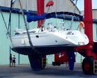 1995 ELAN 431 Sailboat on hardstand in Antigua, Caribbean