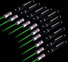 10pcs 10Miles green Laser Pointer Pen Strong Beam Light 532nm Professional Lazer
