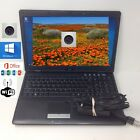 "MSI 15.6"" Laptop Intel 2.40GHz  Windows 10 Wifi Webcam Off 2016  good Batt"
