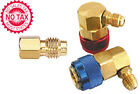 R-12 To R-134a Conversion Quick Connect Coupler Set, 8 Ball Style Coupler