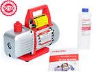 Single-Stage Rotary Vane Vacuum Pump For HVAC/Auto AC Refrigerant Recharging