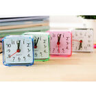 Modern Mini Quartz Clock Travel Alarm Clock Bedroom Home Table Clock