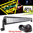 "For YAMAHA 16-UP YXZ1000R Top Upper Roof 42"" Straight LED Light Bar w/ Free Wire"