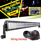 For Can-Am Maverick 1000R COMMANDER 40'' LED Light Bar Upper Roof Mount w/ Wires