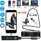 2.0 Megapixels 1200P IP68 Endoscope Camera HD 8mm Borescope fit Android IOS