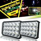 PAIR John Deere Gator LED Headlights 6X4 Utility Vehicle Projector Lamp headlamp
