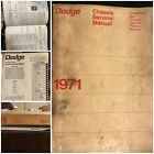 1971 DODGE CHASSIS SERVICE MANUAL