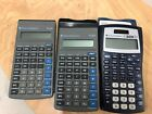 3 Texas Instruments Two (2)TI-30X, One (1) -TI-30X IIS Scientific Calculators/SW