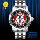 Ford Mustang GT KR Logo Sport Metal Watch