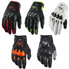 Fox Racing Motocross Bomber MX Off Road aggressive full knuckle coverage gloves