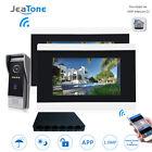 7'' Touch Screen Wireless WIFI IP Video Door Phone Video Intercom System 1 to 2