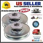 "2 pcs Go Kart Mini Bike 20 Series Torque Converter Clutch Driver 5/8"" Bore 6"" MA"