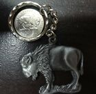 Pewter Bison Key Chain***MADE IN USA***