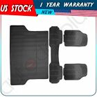 4pcs Dirt-proof Floor Mat Black For 2007 2008 2009 2010 2011 2012 2013 Ford