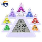 HAMSWAN Digital Alarm Clock 7 LED Color Changing Temperature Display Sleep Mode