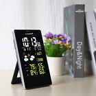 Wireless Weather Station Forecaster In/Outdoor Temperature Humidity Alarm Snooze